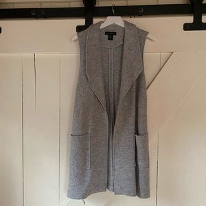 Tahari Long Sweater Vest